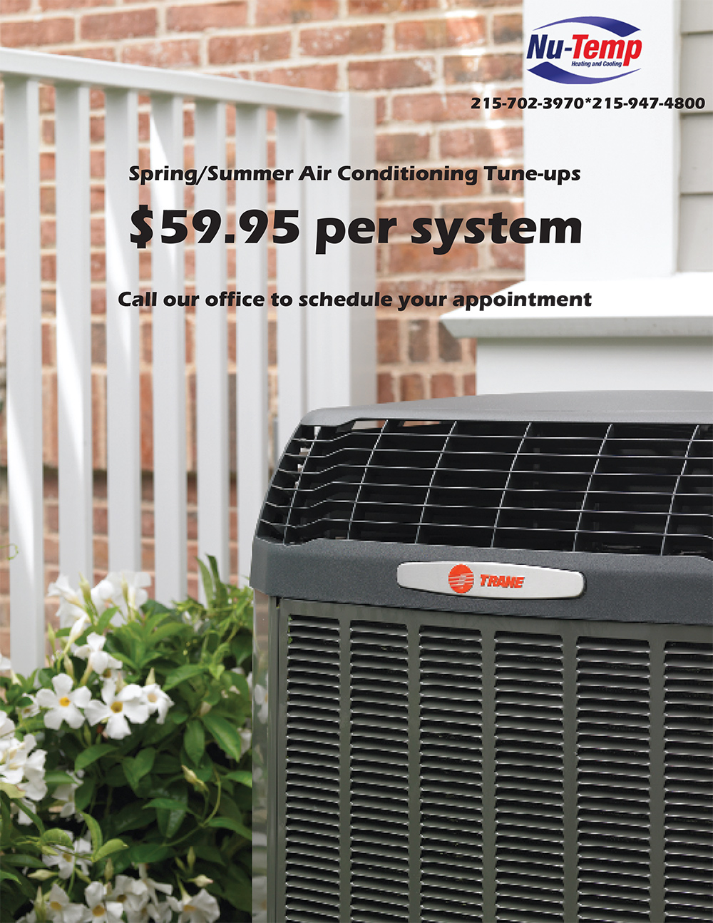 Spring Air Conditioner Tune Up