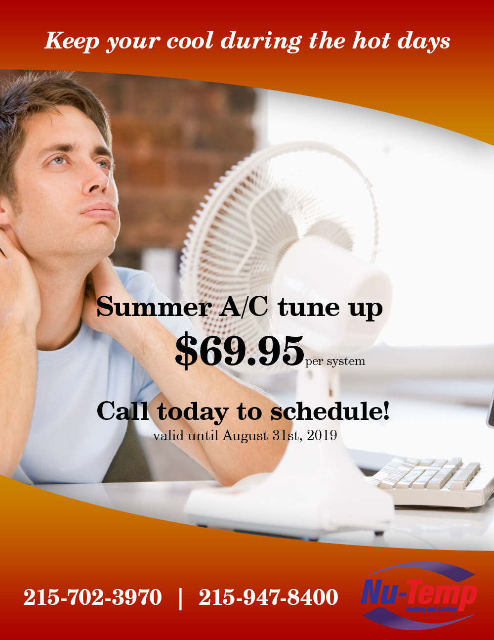 Summer A/C tune up Ad