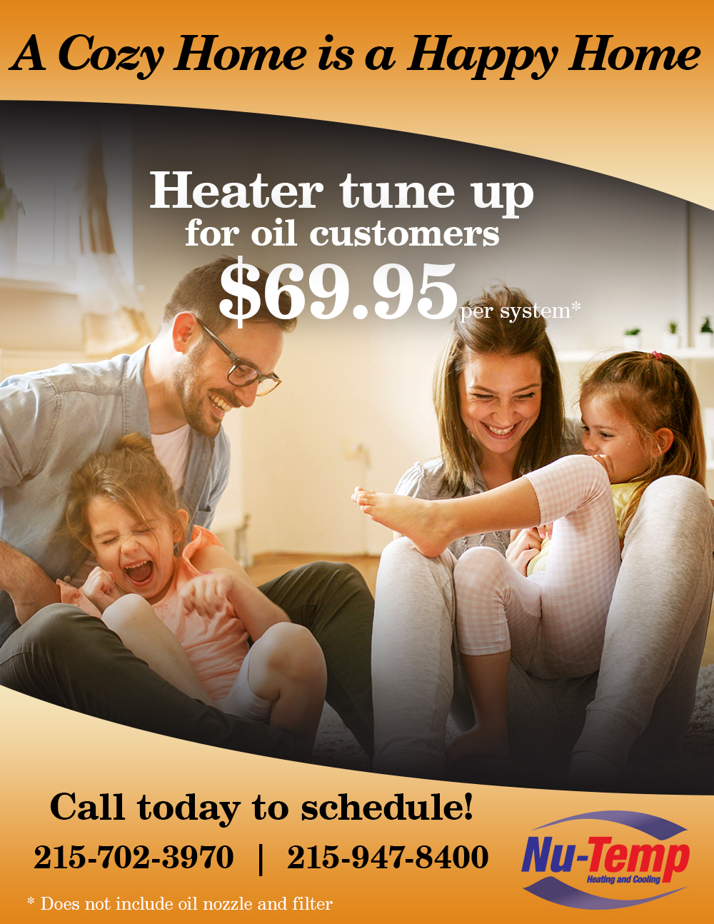2020 Heater Tune up Special Nu Temp HVAC 2020