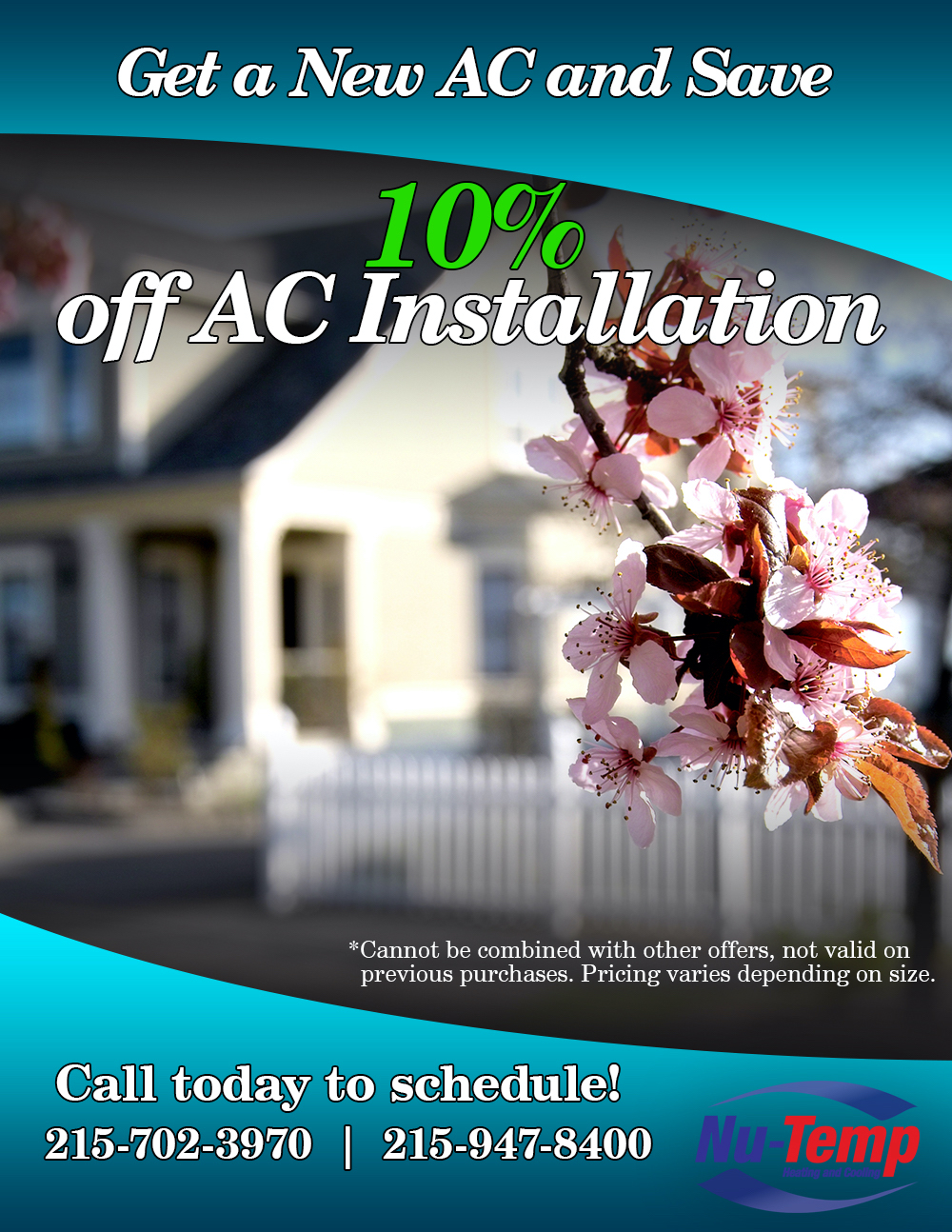 2021 Spring Air Conditioner Discount